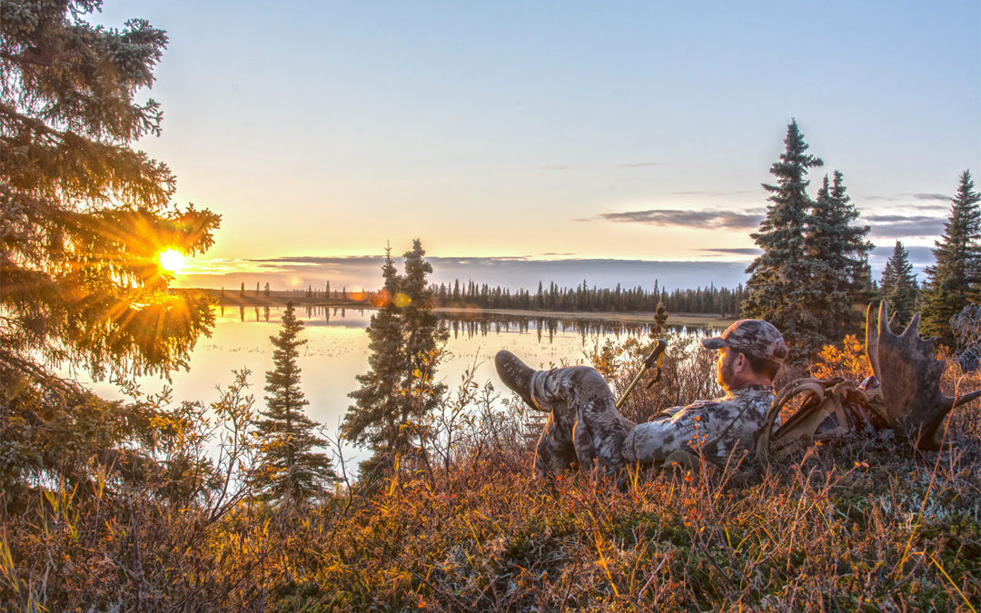 Sunset hunting rent guns and gear elk moose used gear