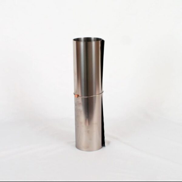 Rolled Seek Outside Titanium Stovepipe