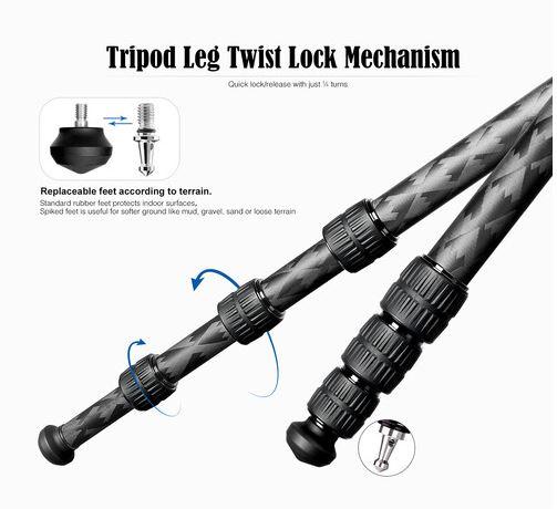 leofoto_Mr. Q LQ-324C+LH-40_Leg_Twist_lock