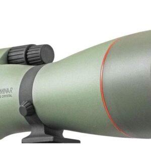 Kowa TSN-883 Prominar Pure Fluorite Spotting Scope Body, Angled with TE-11WZ Zoom Eyepiece Feature