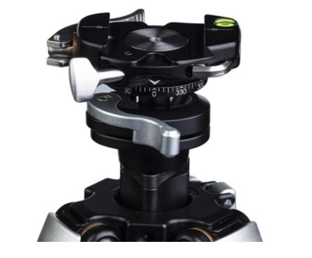 Really Right Stuff Ascend-14 Travel Carbon Fiber Tripod with Integrated Ball Head Center column Not extended